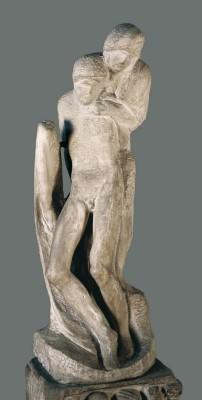Pietà di Rondanini _ Michelangelo Buonarroti_Museo Pietà Rondanini _ Castello Sforzesco_ Milano