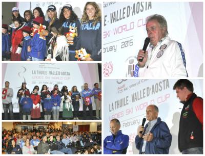 presentazione ski world cup