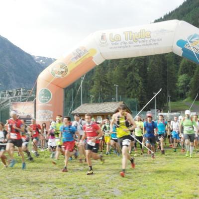 Atleti in partenza_La Thuile Trail