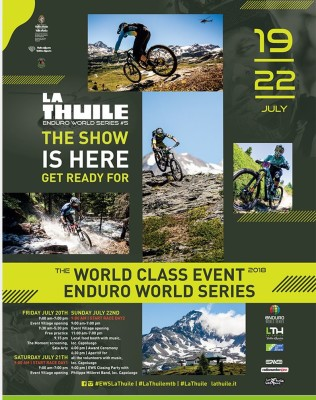 locandina Enduro World Series 2018